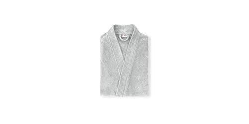 Grace Kimono - Albornoz (100% algodón), color plateado