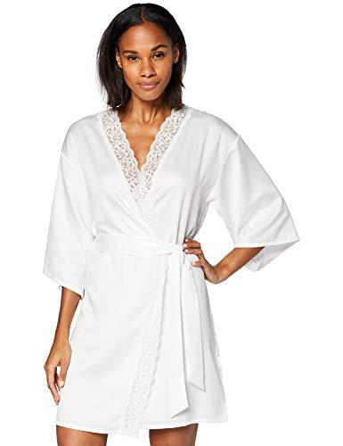 Marca Amazon - Iris & Lilly Bata Mujer, Blanco (Bright White), XS, Label: XS