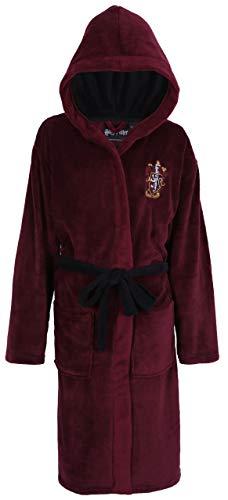 Harry Potter Hogwarts Gryffindor Bata Burdeos de Hombre Large/X-Large