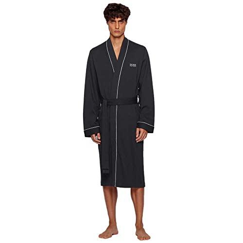 BOSS Kimono BM Albornoz, Negro (Black 001), L para Hombre