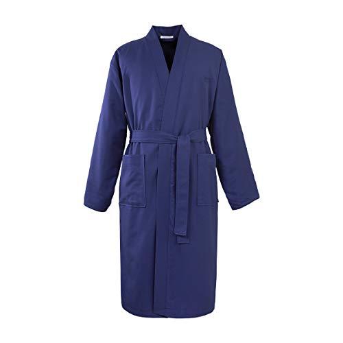 Hugo Boss Boss - Kimono piqué azul marino XL