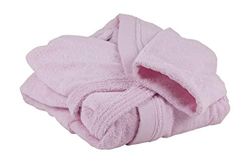 Cofan Albornoz Color Rosa Claro   100% algodón   Gramaje 500g/metro   Talla XL