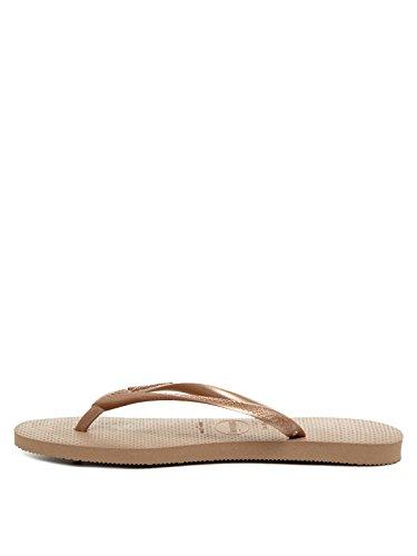 Havaianas Slim, Zapatillas Mujer, Rose Gold, 39/40 EU