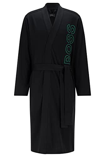 BOSS Identity Kimono Bata, Negro1, S para Hombre