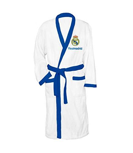 Albornoz adulto en caja de Real Madrid TALLA XL (NI-100-274-XL)