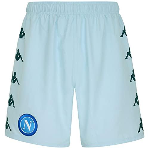 Kappa Kombat Ryder Pro Napoli Pantalones Cortos, Hombre, Azul, M Pantalones Cortos, Hombre, Azul, M