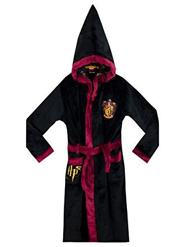 HARRY POTTER - Gryffindor -Bata para niños - Negro 11-12 Años