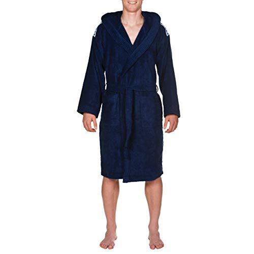 ARENA Albornoz de baño para mujer, azul, FR: 2XL (talla del fabricante: XXL)