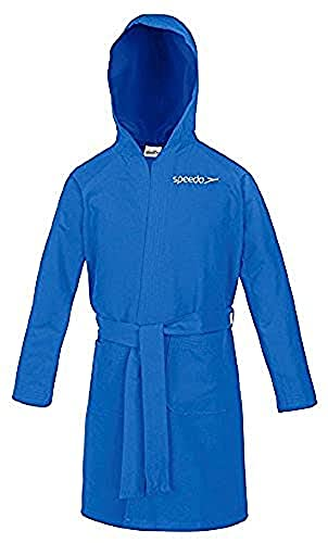 Speedo Microfiber Albornoz, Unisex adulto, Azul (Azure), 4
