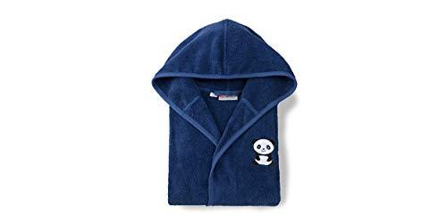 Grace Albornoz infantil Panda 110-116, azul marino, 100% algodón