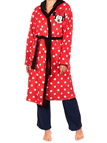 Disney Bata para Mujer Minnie Mouse Rojo Large