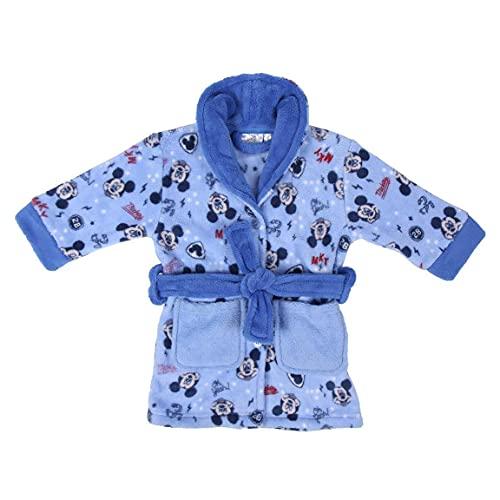 CERDÁ LIFE'S LITTLE MOMENTS Batitas de Bebé Niño Mickey-Licencia Oficial Disney, Azul, 36M para Bebés