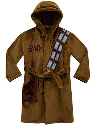 Star Wars - Bata para niños - Chewbacca - Marrón - 11-12 Años