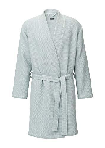 Marc O?Polo Alta Sea Green S - Albornoz (100% algodón, con capucha, suave y acogedor), color verde