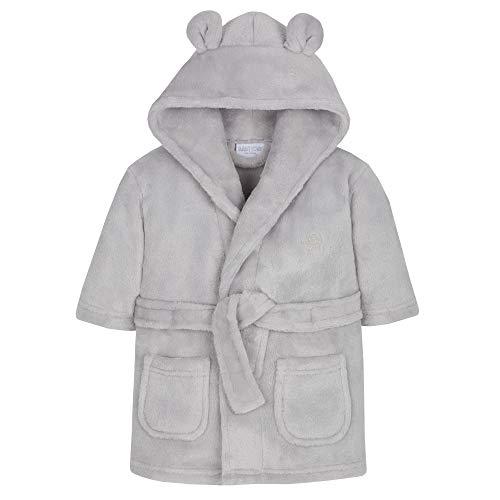 Babies Snuggle - Albornoz de forro polar Gris gris 18-24 Meses