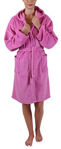 Betz Albornoz Infantil Style con Capucha Color Rosa Tamaño 128