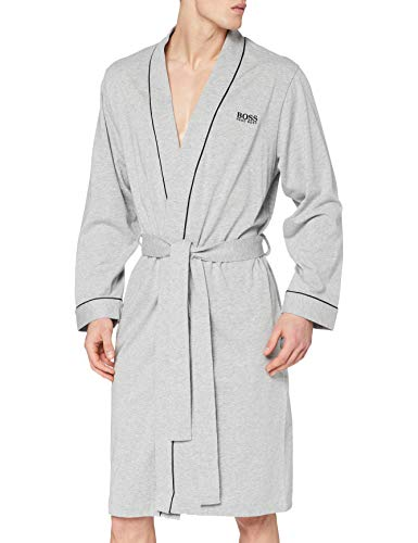 BOSS Kimono BM Albornoz, Gris (Medium Grey 33), XXL para Hombre
