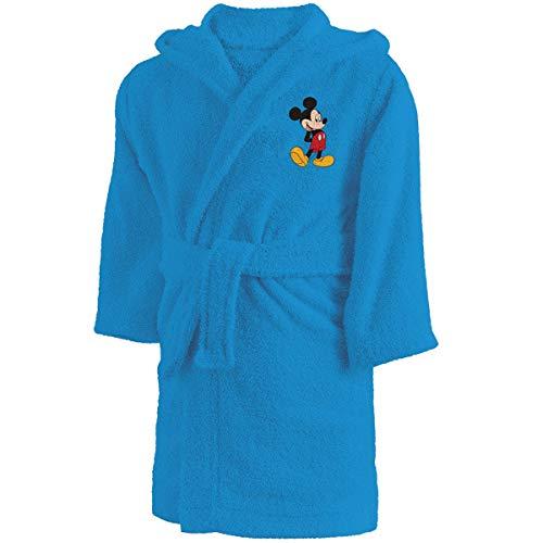 CTI Disney Mickey 043223 Star - Albornoz Infantil (2 a 4 años), Color Azul