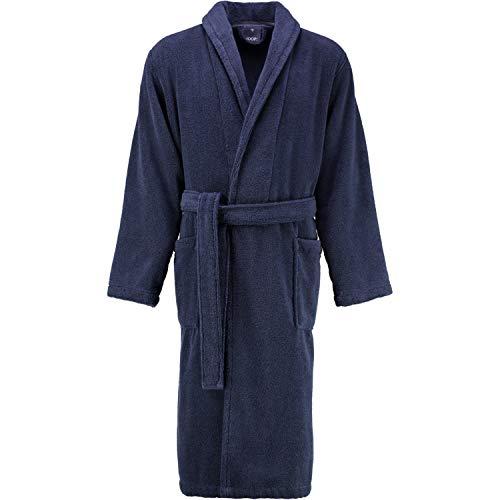 Joop! Albornoz para hombre con cuello bufanda 1651 azul - 175 XL