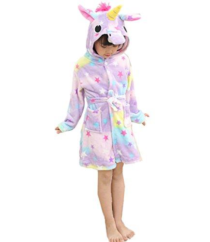 Z-Chen Bata para niños - Forma de Unicornio, Estrella, 2-3 Años, (Tamaño de Manufactura 85/100)