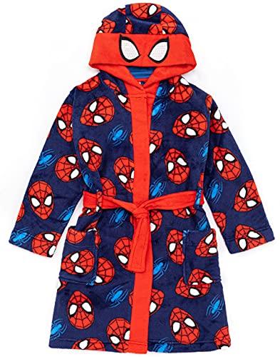 Marvel Spider-Man Watch Boys Kids Cosplay Pijamas Robe 4-5 años