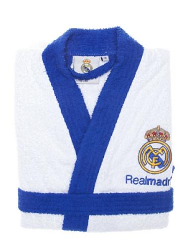 Real Madrid C.F. Albornoz Escudo Bordado Blanco M