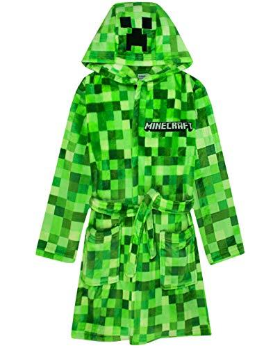 Minecraft Albornoz Pixelated Creeper Gamer Gift Boys Albornoz