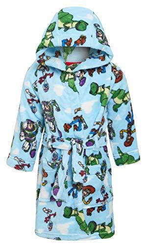 Disney Toy Story 4 - Albornoz con capucha para niños y niñas, de forro polar